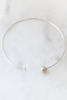 Chan Luu Grey Pearl Diamond Choker