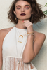 Chan Luu White Horn Charm Necklace