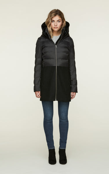Velma-FX Coat - Black