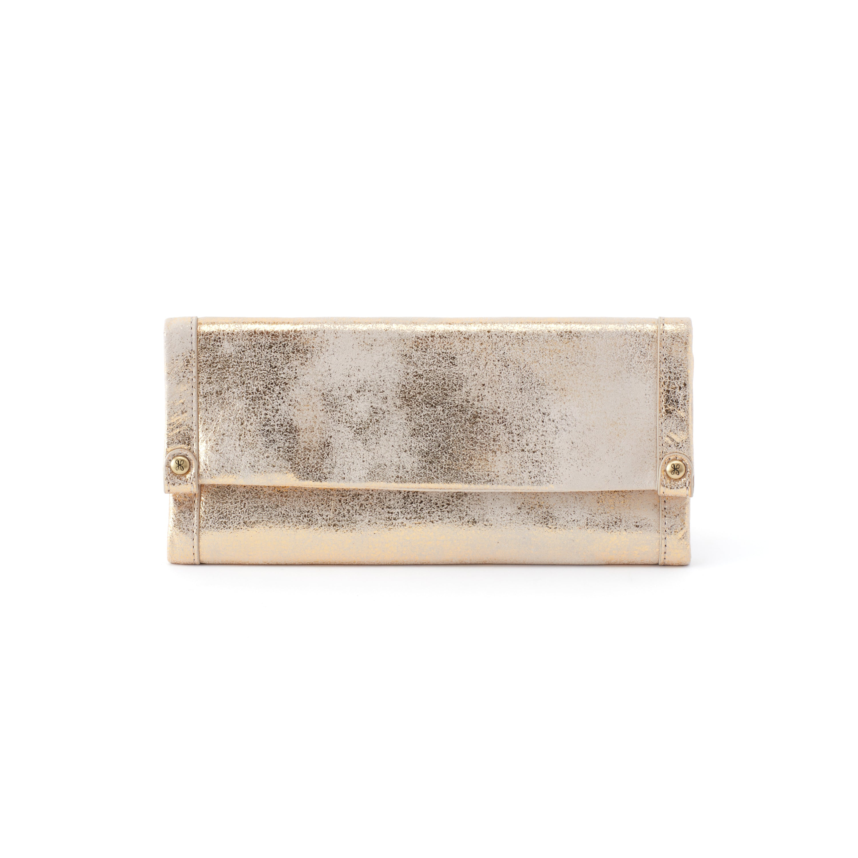 Fable Continental Wallet - Distressed Gold