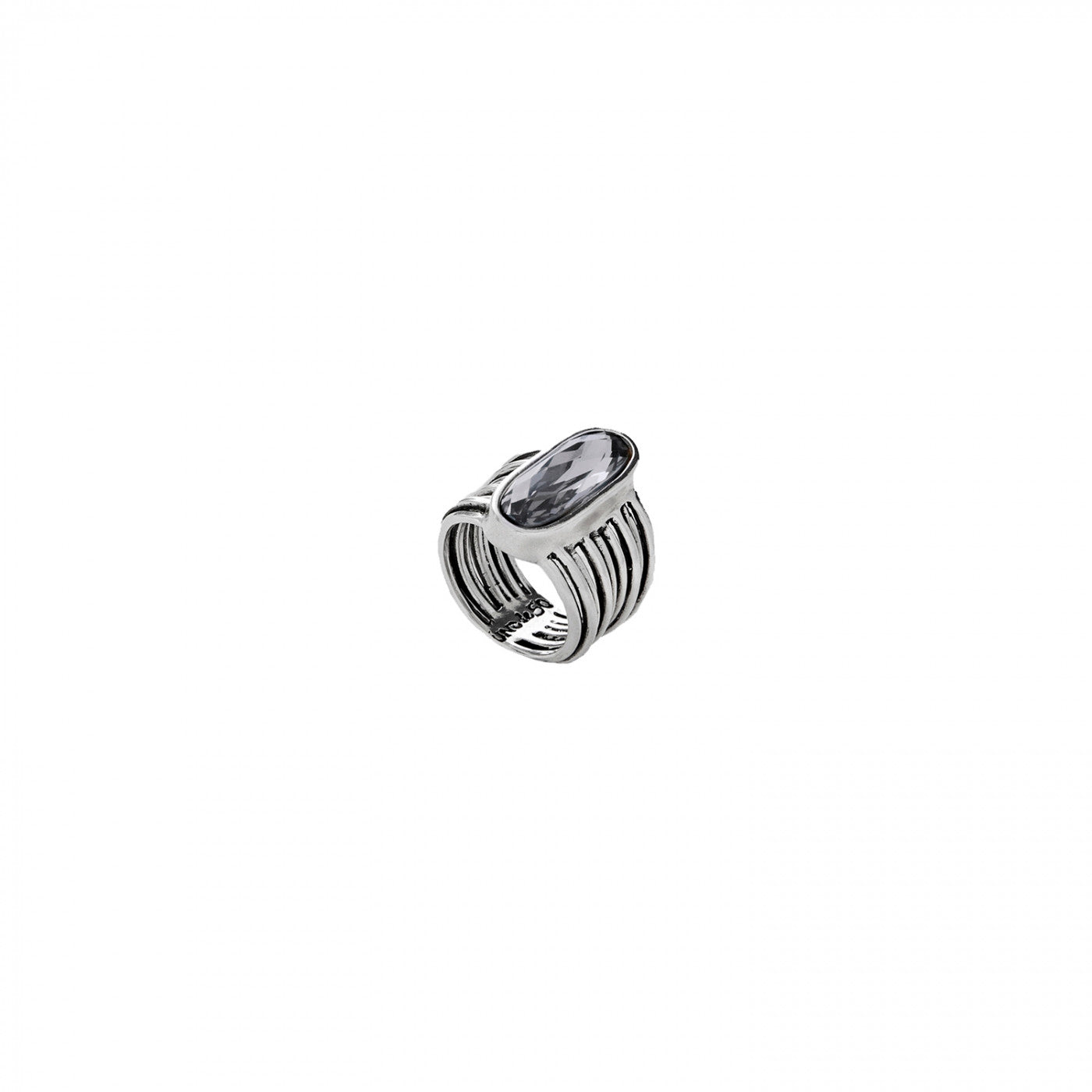 Looping Ring - Grey