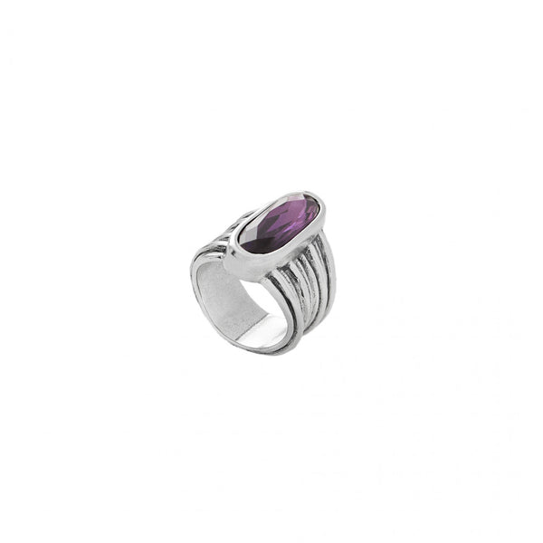Looping Ring - Purple