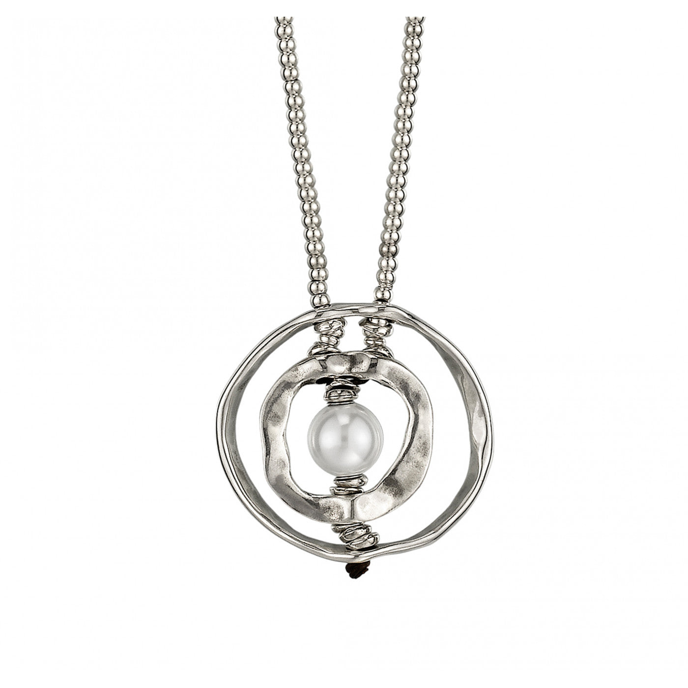 A Pearl of Wisdom Necklace - Silver