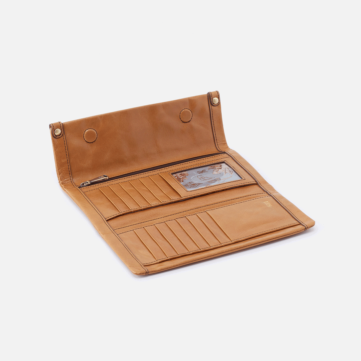 Fable Continental Wallet - Honey