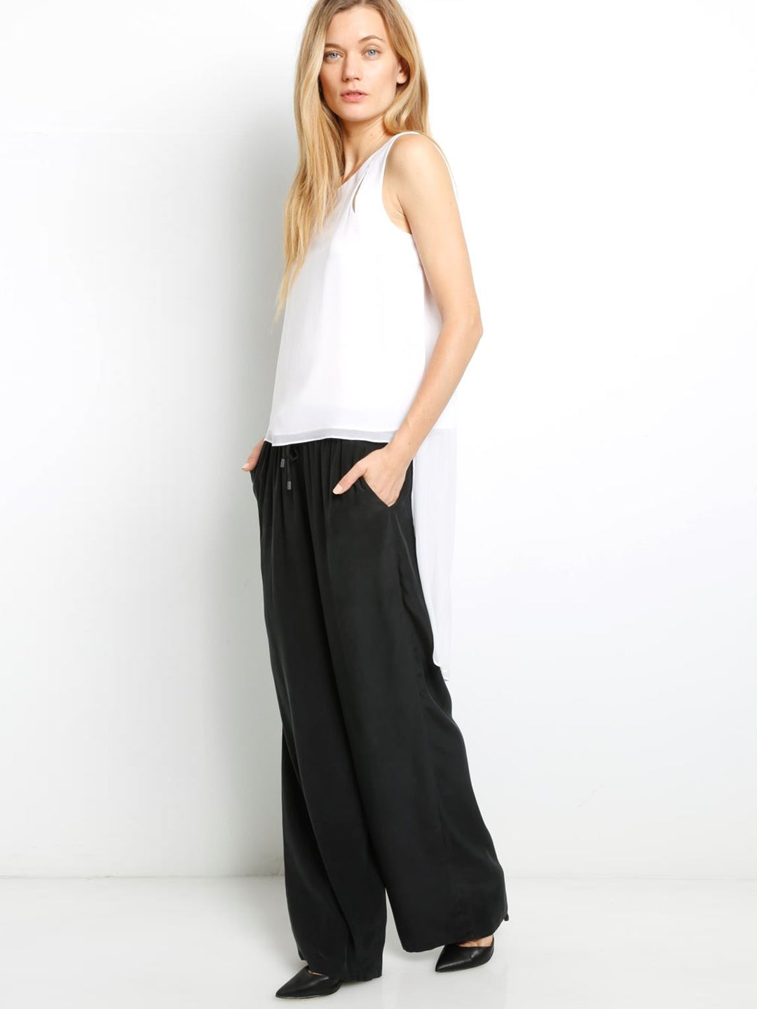 Go Flow-y Pants - Washed Black