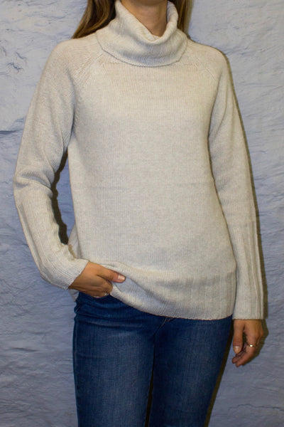 Reeva Turtleneck Sweater - Arctic Mist