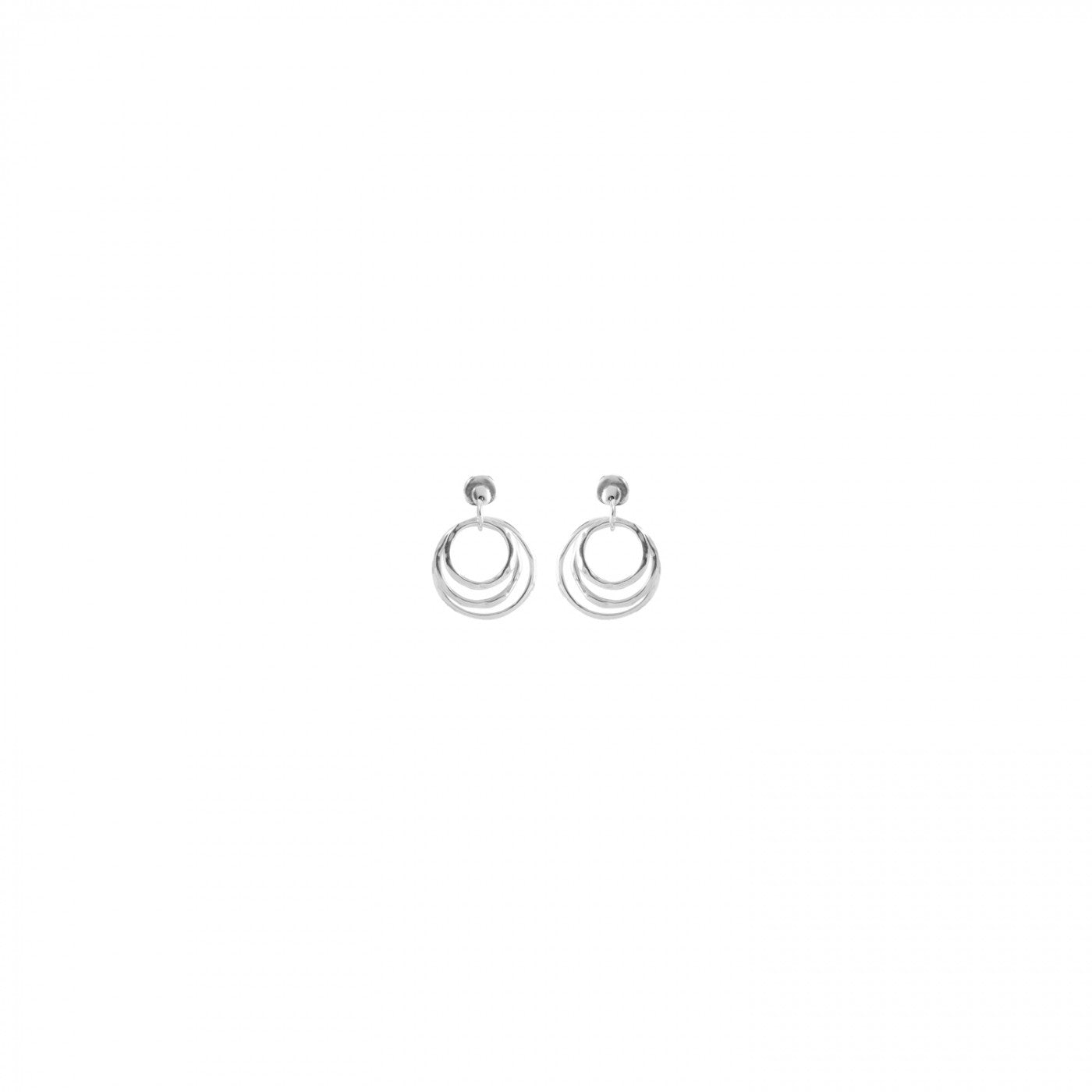Hipster Earrings - Silver