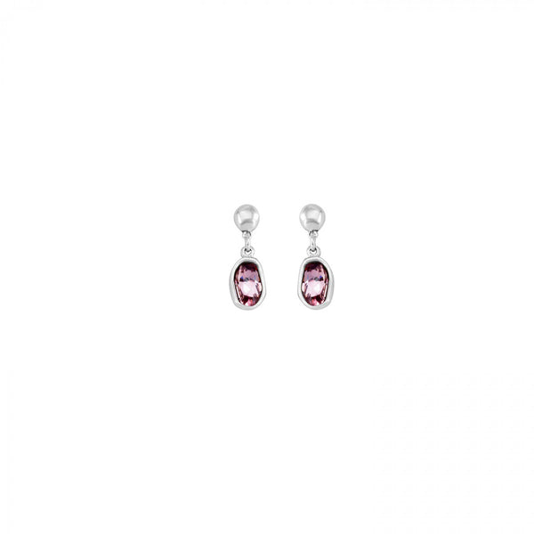 On Tip Toes Earrings - Pink