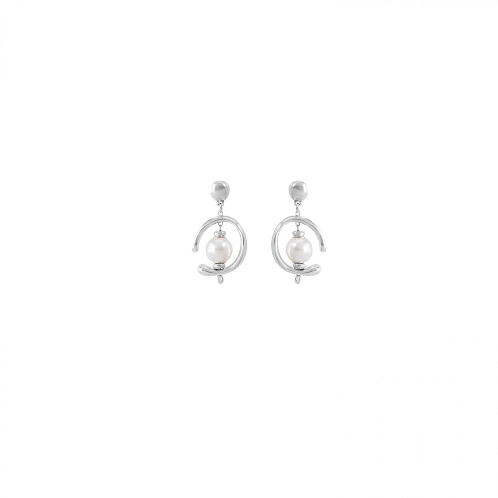 Inorbit Earrings - Pearl