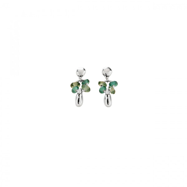 Roots Earrings - Green