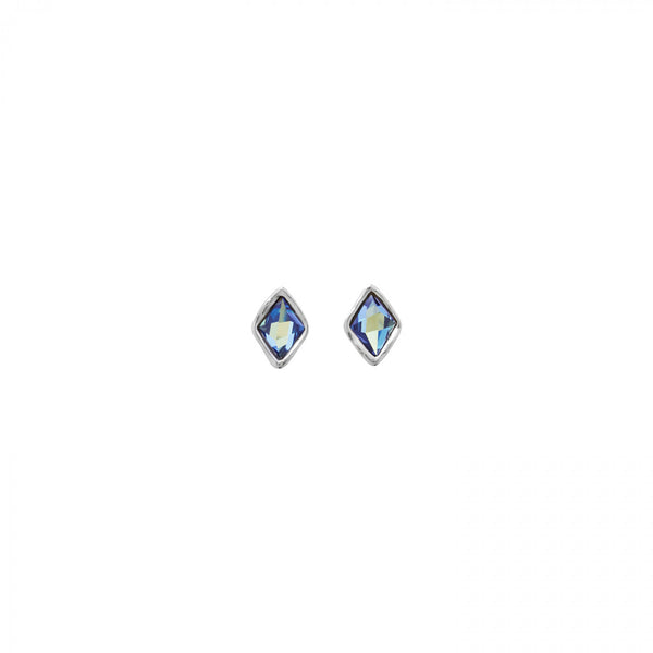 Stalagmite Earrings - Blue