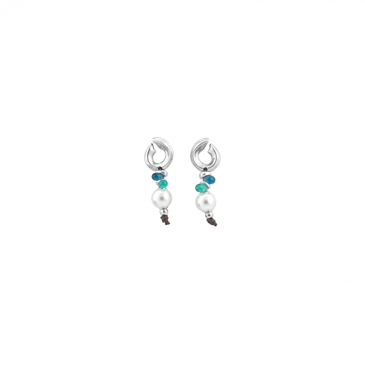Dune Earrings - Pearl