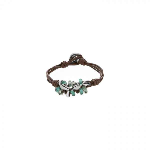 Sowing Bracelet -  Green