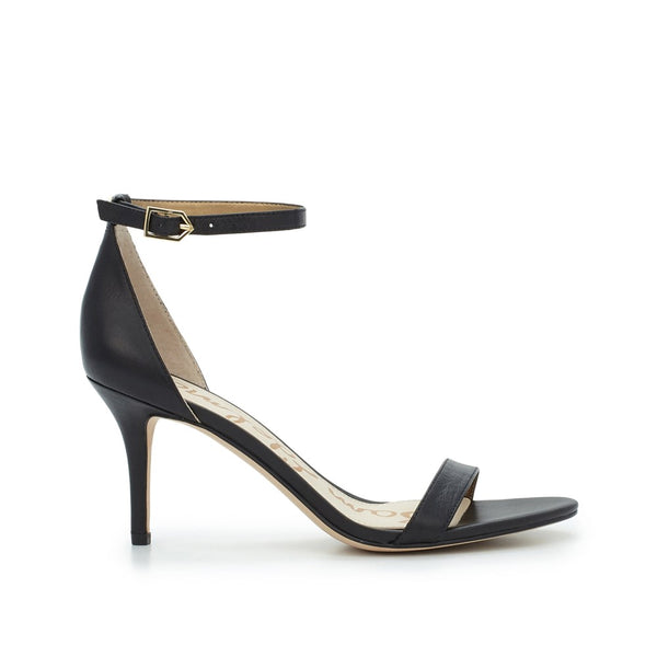 Patti Ankle Strap Sandal - Black