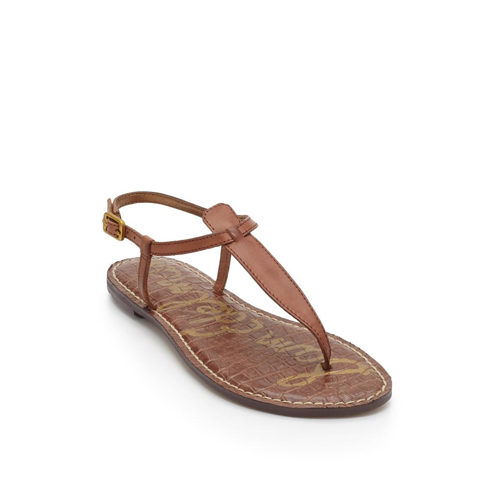 Gigi Thong Sandal - Saddle