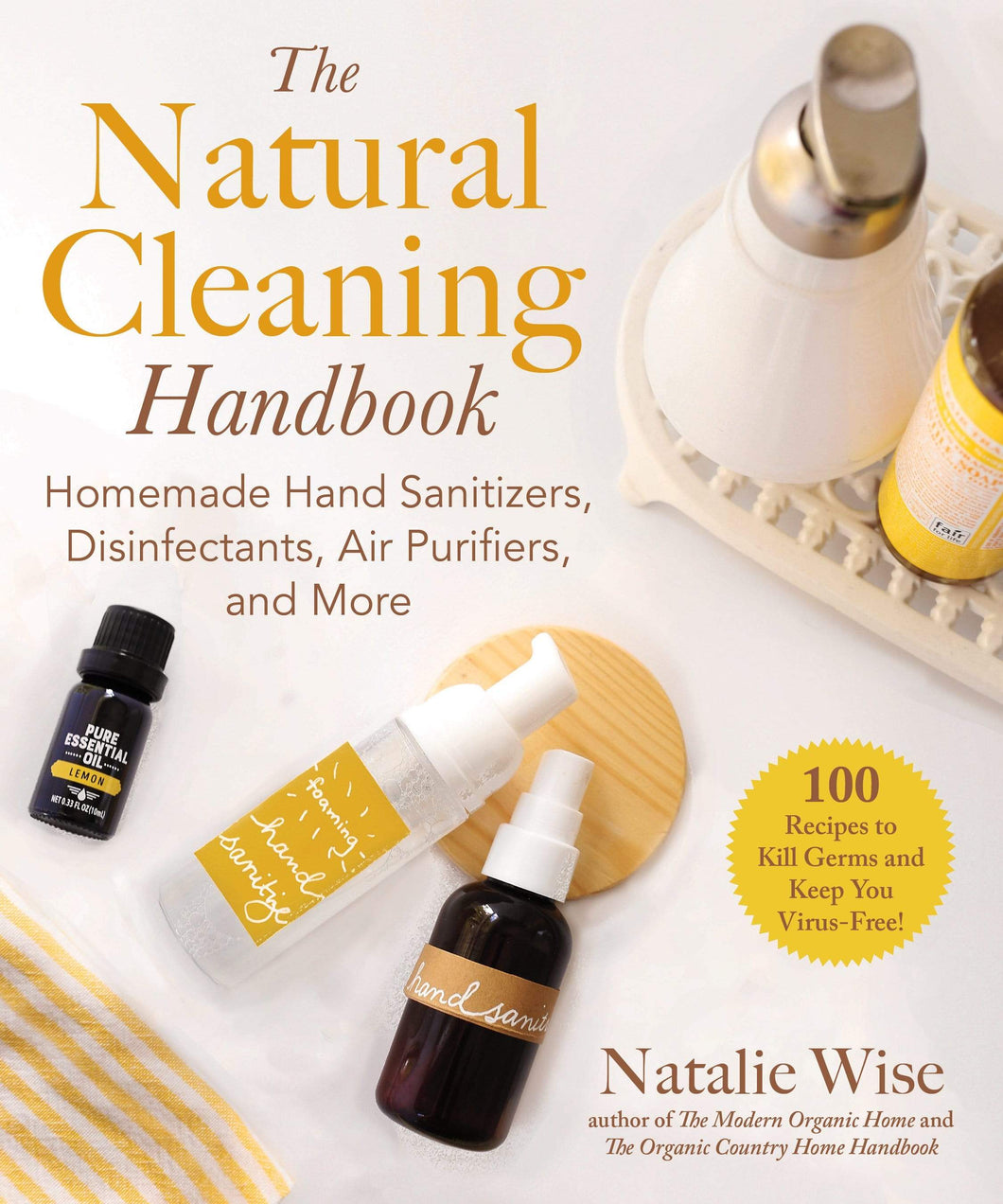 Book The Natural Home Cleaning Handbook by Natalie Wise Paperback Book