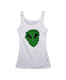 Alien Puzzle women's tank top