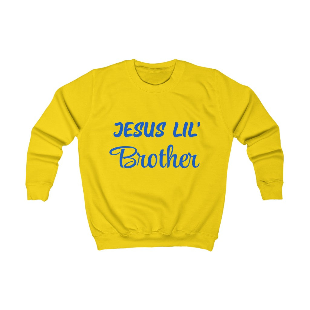 Kids Sweatshirt - Jesus Lil' Brother