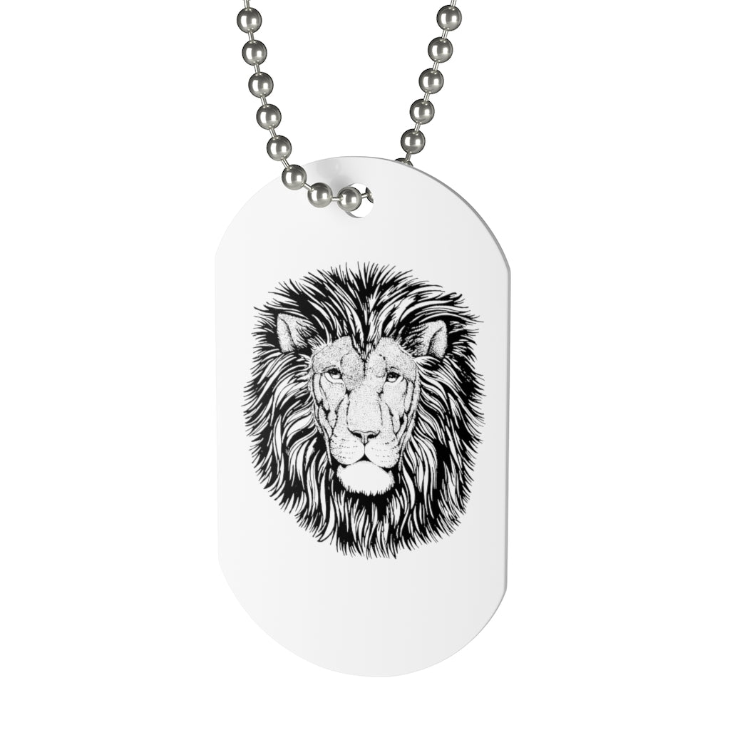Dog Tag - Lion of the Tribe of Juda