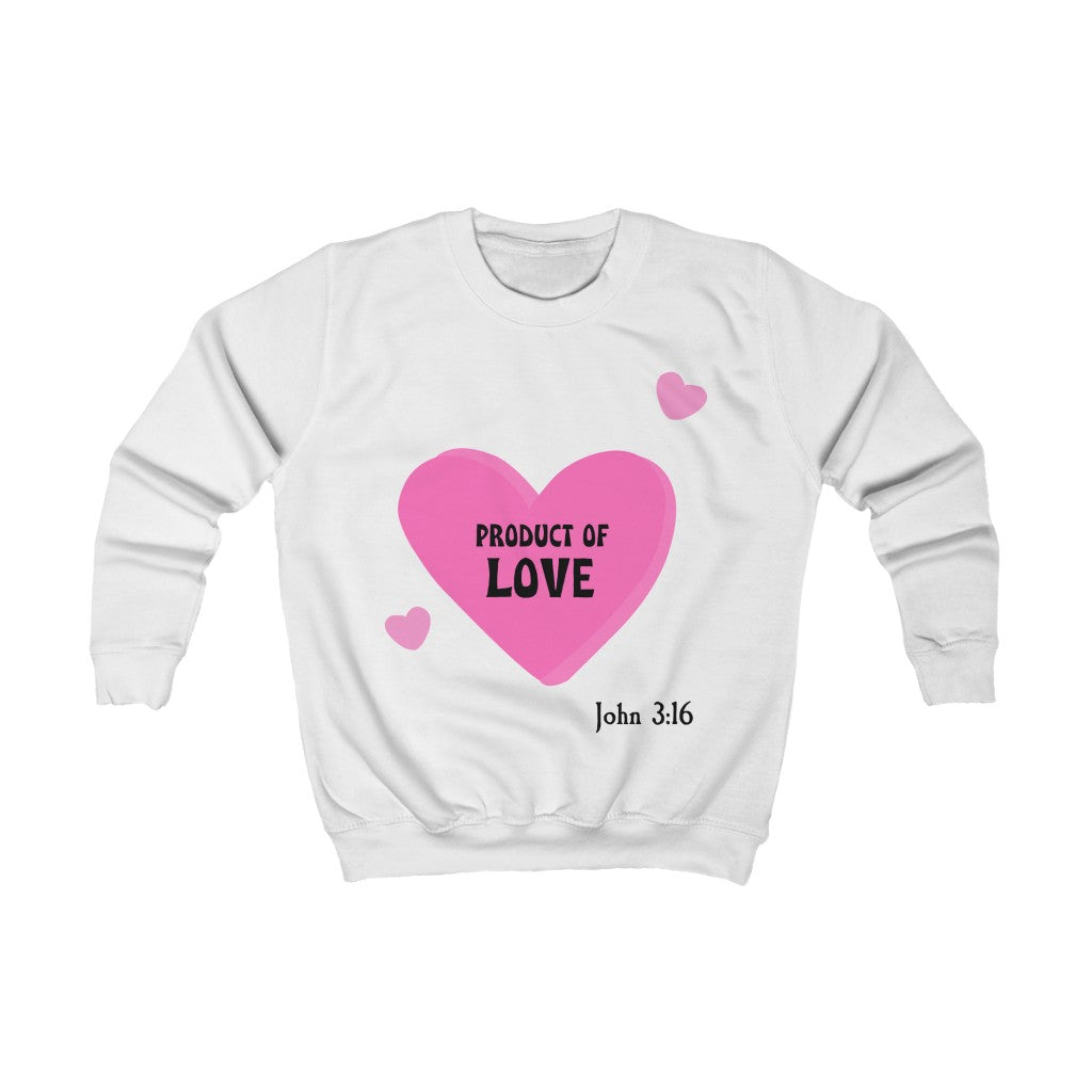 Kids Sweatshirt - Product of Love