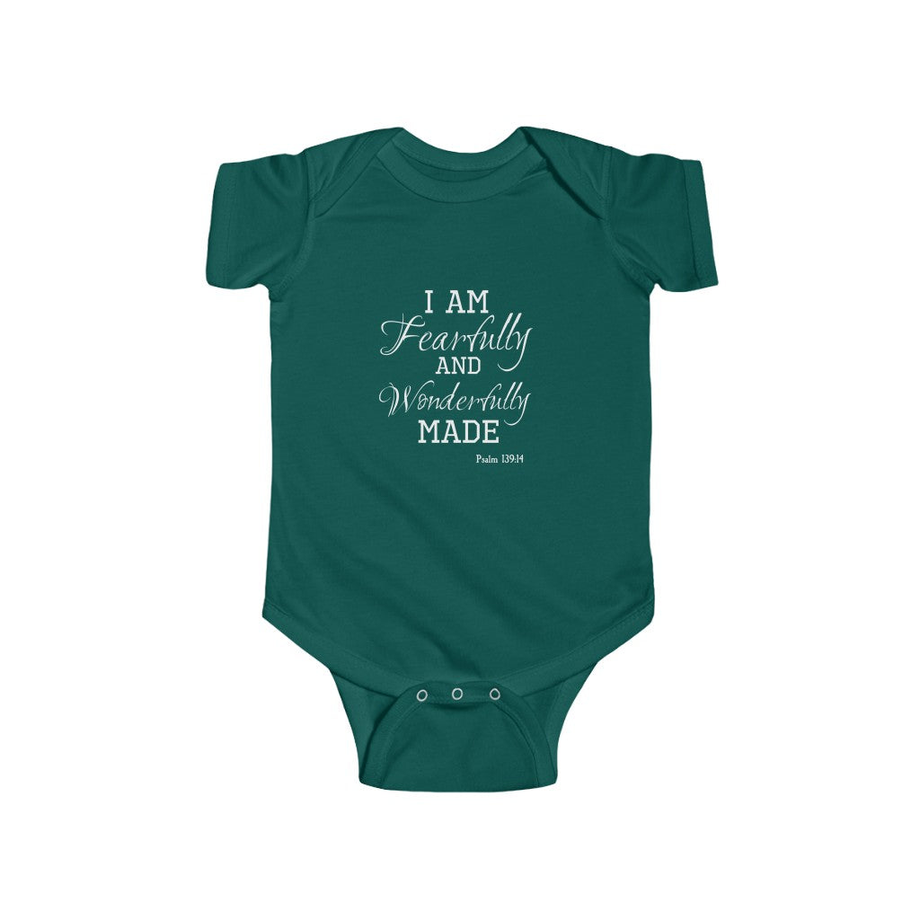 Infant Bodysuit - Fearfully & Wonderfully