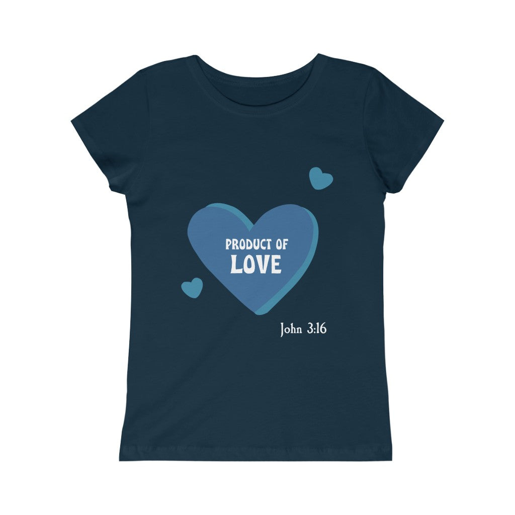 Kid Princess T-shirt - Product of Love