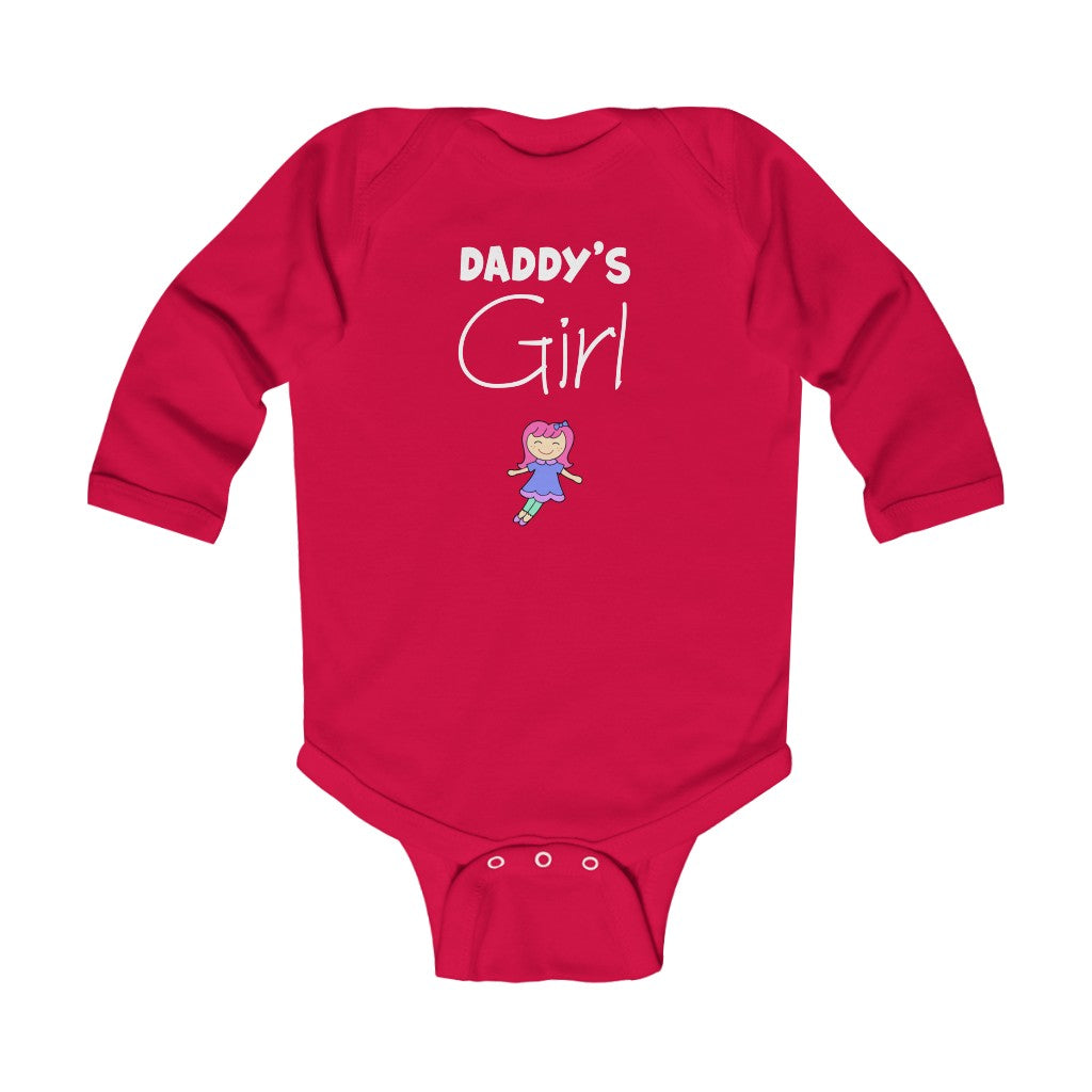 Infant Long Sleeve Bodysuit - Daddy's Girl
