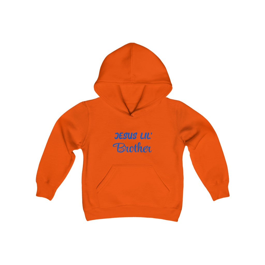 Youth Hooded Sweatshirt - Jesus Lil' Brother