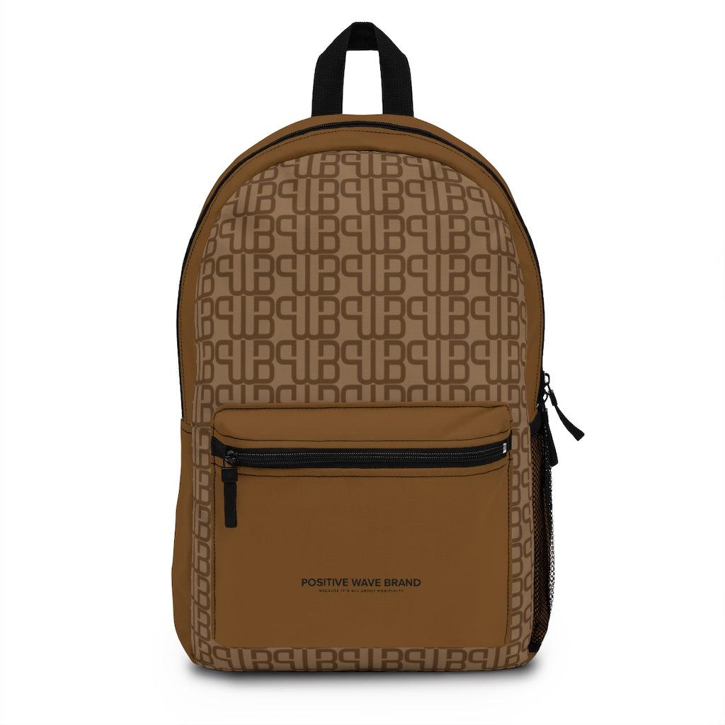 School Backpack with pocket - Positive Wave Brand