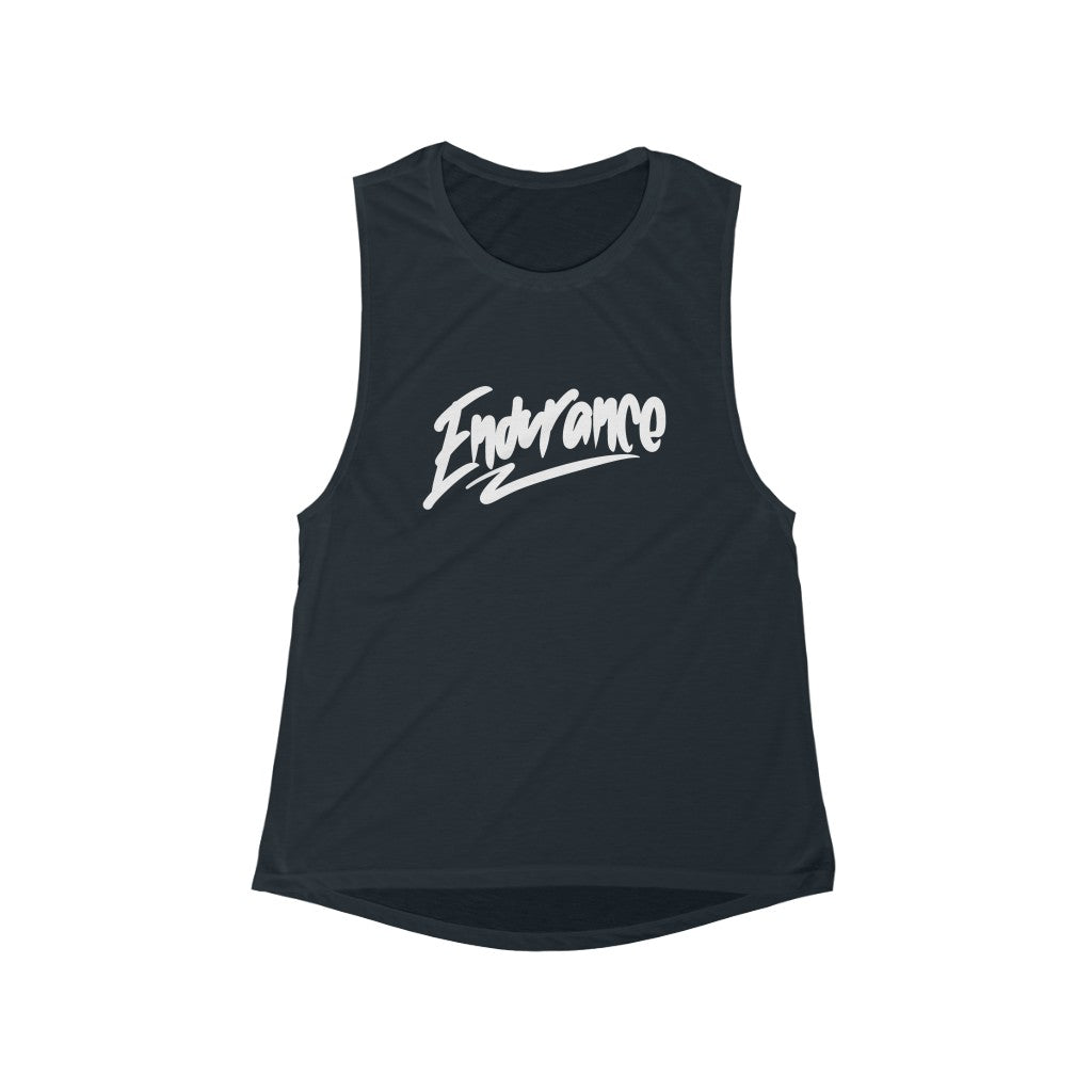 Women's Flowy Scoop Muscle Tank - Endurance