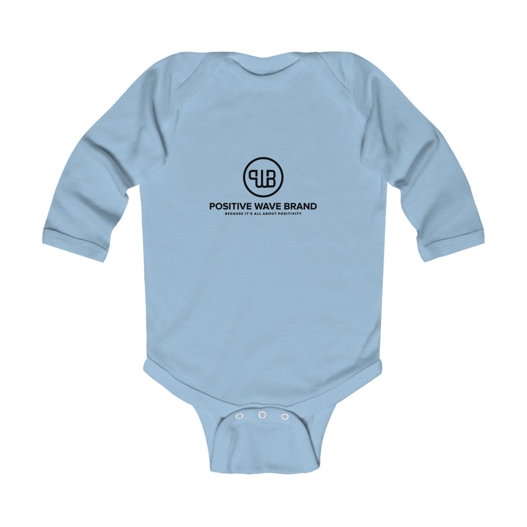 Infant Long Sleeve Bodysuit - Positive Wave Brand