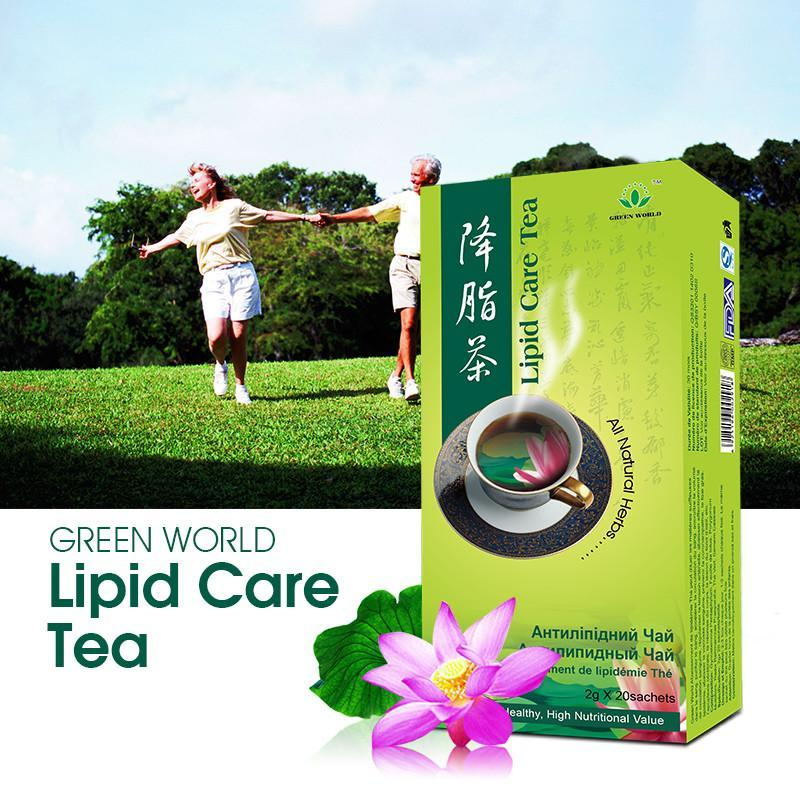 Lipid Care Tea Green World - Green World Products Shop