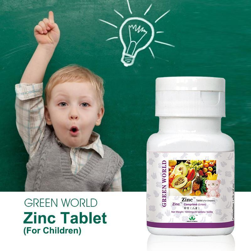 Zinc Tablet (for kids) - Green World Products Shop