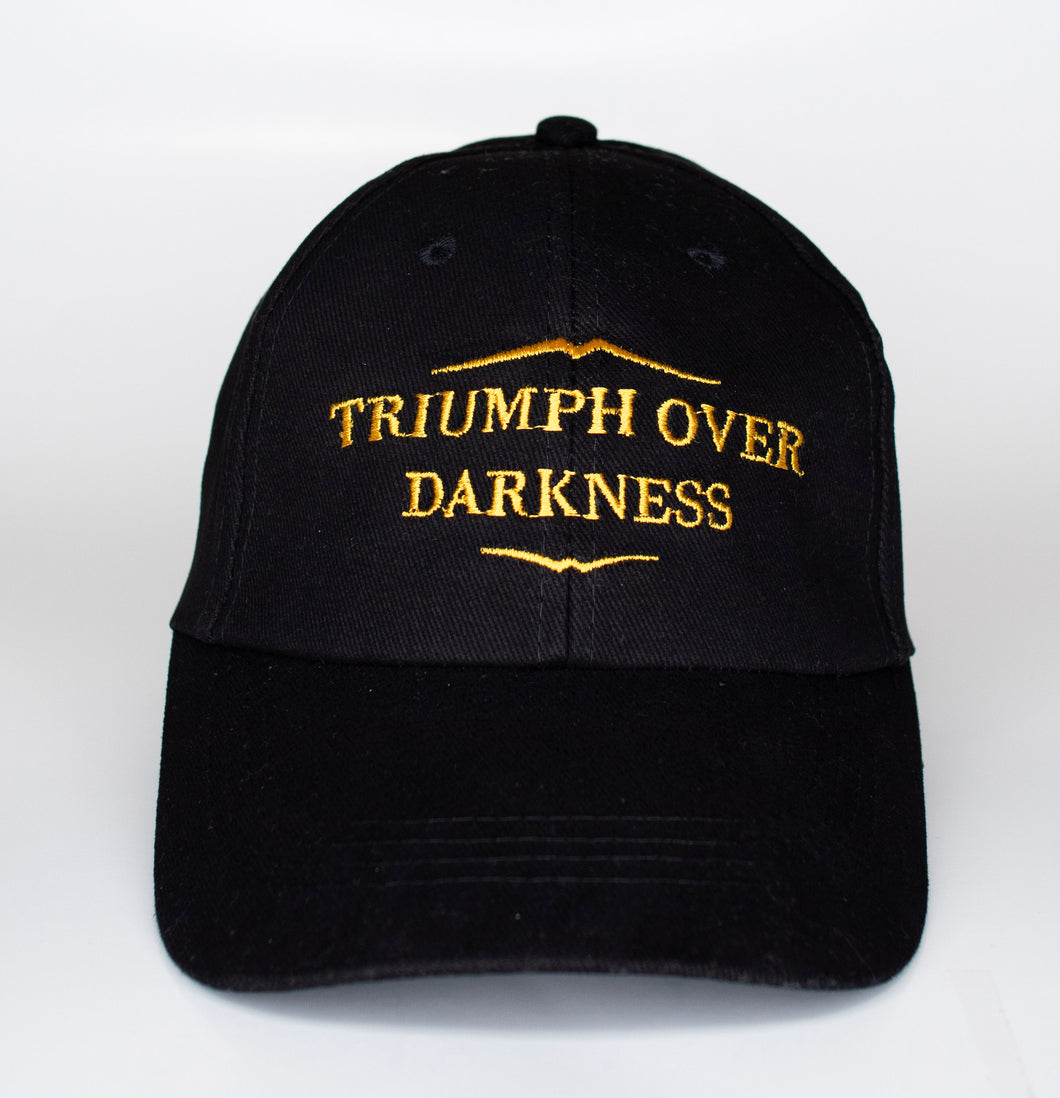 Black Triumph Over Darkness Hat