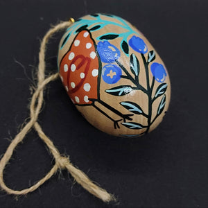 Wooden Folk Egg