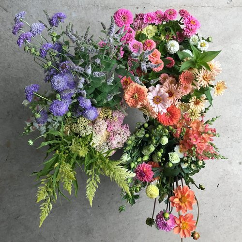 DIY Bucket Of Blooms