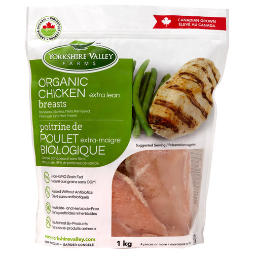 Yorkshire Valley Farms Organic Chicken Breast