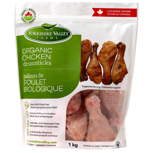 Yorkshire Valley Farms Organic Chicken Drumsticks