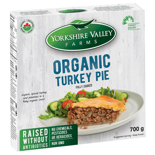 Yorkshire Valley Farms Organic Turkey Pie