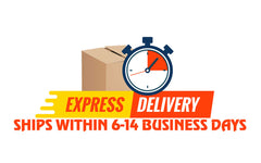6-14 days express delivery