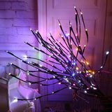 LED Light Decoration - Willow Branch, Garden Floral