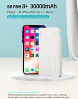 Romoss Sense8+ Portable Power Bank 30,000mAh Quick Charge