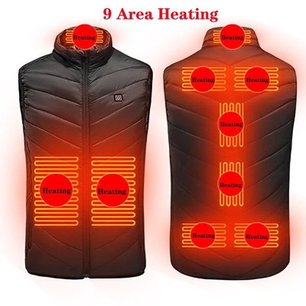 Unisex Heated Vest various sizes up to 6XL