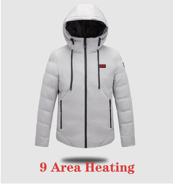 Unisex Heated Jacket various sizes up to 5XL