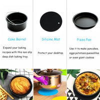 8pcs Air Fryer Accessories - 7 inch or 8 inch