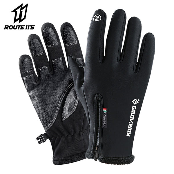 Unisex gloves with thermal technology and touch screen