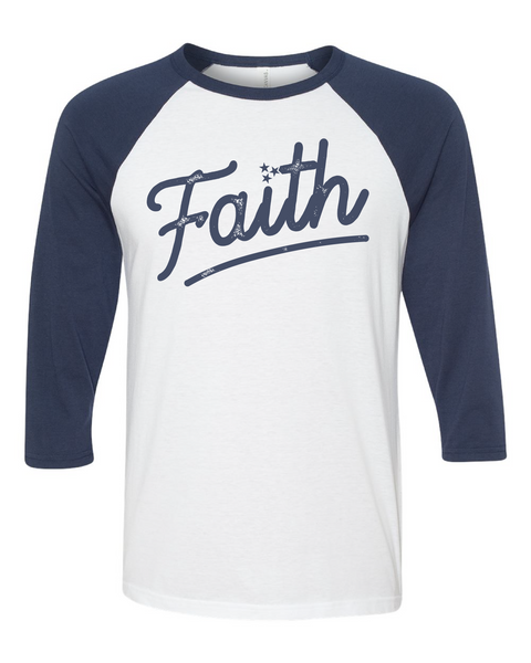 Faith Tristar Baseball Tee