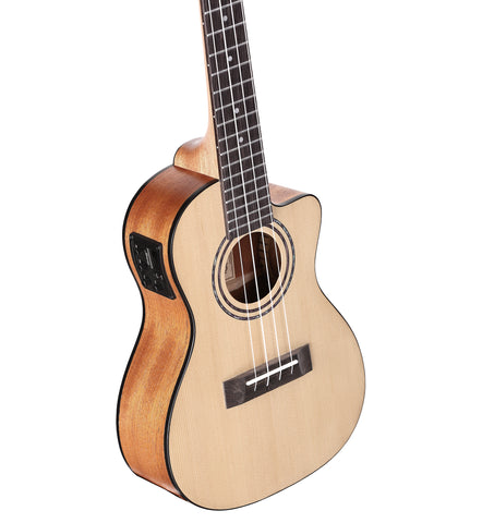Alvarez RU26CCE CONCERT UKULELE ACOUSTIC ELECTRIC W/EQ AND TUNER