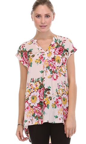 Floral the Love Sleeveless Blouse