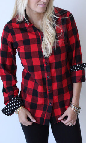 Lumberjack Plaid Button Up